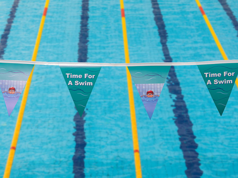 Buy Factory Direct Australian Made Swimming Pool Flags Here
