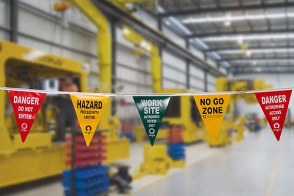 Printed Safety Bunting