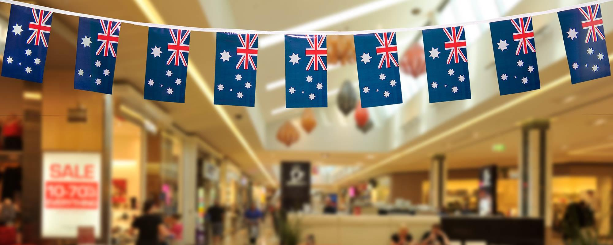 Australian Bunting Flags Buy Bunting Online For Aus Amp Nz